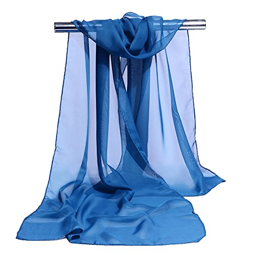 Aloiness scialle cerimonia semplice scialle sciarpa stole ideale per abiti da sera, matrimoni, feste, per damigella d'onore, sposa o vestiti da sposa o prom proms