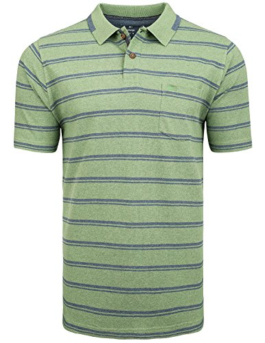 Commander S NOS 2-Knopf Polo Shirt Mel-XXL (214006294) (2-knopf-polo-shirt)