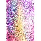 AOFOTO 5x7ft Party Sequins Backdrop Colored Glitter Decoration Photography Background Sweet Sparkles Spangly Paillette Kid Girl Artistic Portrait Photo Shoot Studio Props Video Drop Wallpaper Drape