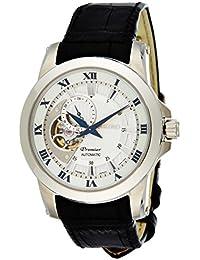 Seiko Premier Automatic - Reloj Analógico de Automático para Hombre, correa de Cuero color Negro
