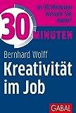 Expert Marketplace -  Bernhard Wolff  - 30 Minuten Kreativität im Job