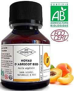 Huile végétale de noyau d'Abricot BIO - MyCosmetik - 50 ml