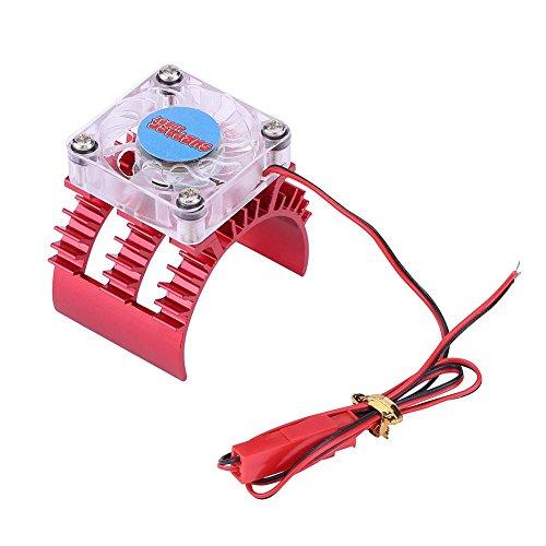Disipador de Calor de Motor de RC Con Ventilador Refrigeración para 1:...