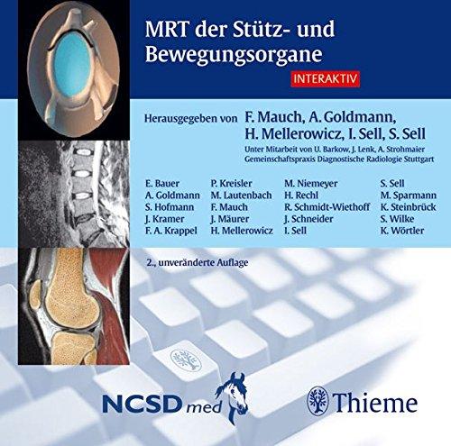 MRT der Stütz- und Bewegungsorgane interaktiv. CD-ROM für Windows 9x/2000/XP
