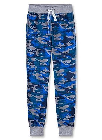 Sanetta Jungen Schlafanzughose 243741 Blau (Washed Blue 50110), 140