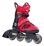 K2 RAIDER PRO Kinder Inline Skates größenverstellbare Inliner Rollerskates für Kinder (größenverstellbar von 35-40)