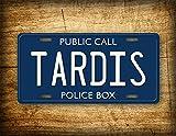 Die besten Freunde Tardis - Fhdang Decor Doctor Who Tardis Nummernschild für Polizei Bewertungen