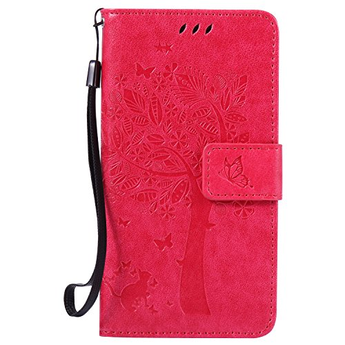 samsung-galaxy-a5-case-leather-rose-red-cozy-hut-wallet-case-premium-soft-pu-leather-notebook-wallet