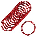 Zhichengbosi - Lot de12 ou 24 fils Bracelets rouges de kabbale  , red, m