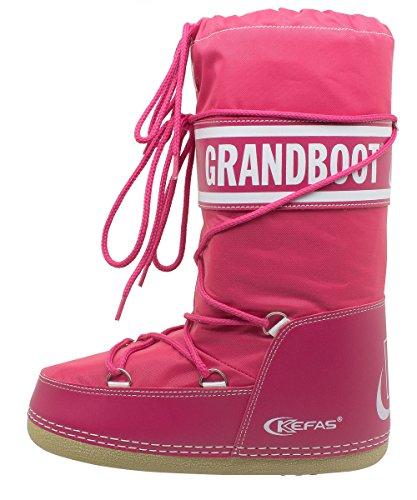 Kefas - Grandboot - Doposci Boot Uomo Donna Bambino Fuxia