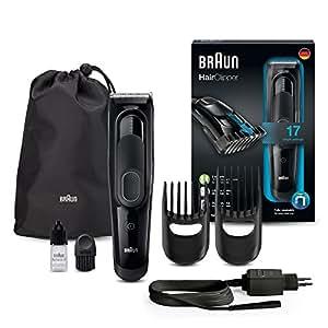 Braun Haarschneider/Trimmer HC5050, mit 17 Längeneinstellungen, schwarz