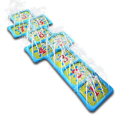 Sprinkler Und Splash Play Matte, Wasser Spiel Yard Spielzeug Kinder Spray Outdoor Party Aufblasbare Sommer Spaß, Für Baby, Kinder, Hund Und Haustiere ()