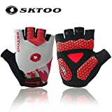 #4: SBE SKTOO Semi Finger Mtb Cycling Gloves Motorcycle Combat Bicycle Breathable Glove Gel Pad