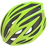 Inserciones de Fibra de Carbono Reforzado + Cubierta Aerodinámica - C ORIGINALS SV888 Casco Bicicleta - Amarillo de Alta Visibilidad