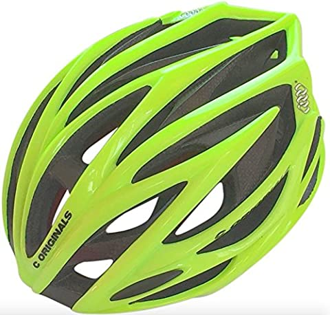 C ORIGINALS SV888 Carbon Fiber Reinforced Aero Road Bike Cycle Helmet + Aero / Rain Cover