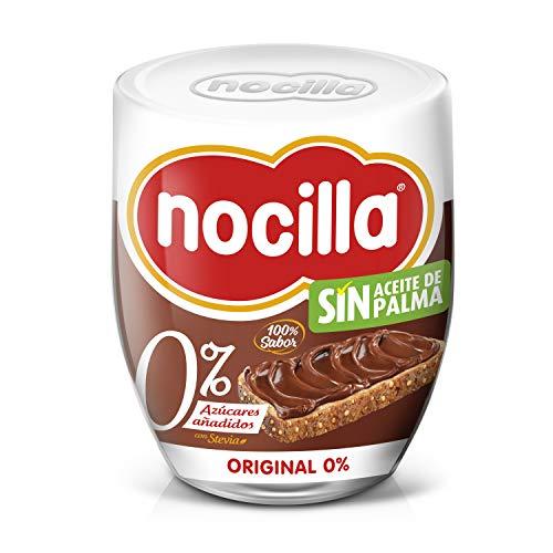 Nocilla Original 0{17485b39fcaf25c63915e608604e3338dcdec57c656174c5e43f051e90a33671} Azúcares Añadidos: Crema de Cacao Natural con Avellanas y Edulcorantes - Sin Aceite De Palma - 3 Envases de Vidrio Reutilizable de 190 gr. (Total 570 gr.)