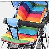 Wasserdicht Leicht Baby Kinderwagen Buggy Kinderwagen Kissen Pad zufällige Farbe
