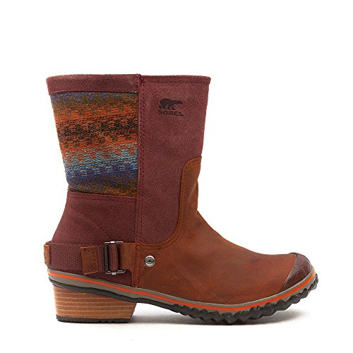 Sorel, Stivali donna Rosso (Madder Brown)
