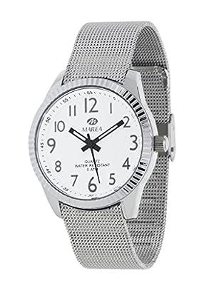 Reloj Marea Mujer B35254/5 Malla Metálica Blanco
