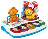 Toys Bhoomi Musical Play & Learn Amusement Park Themed Mini Piano Toy for Infants Toddlers with Lights & Sound