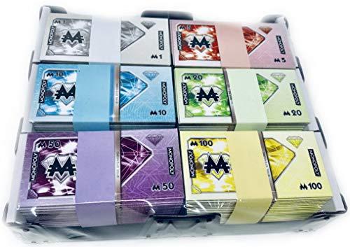 Monopoly Millionär Geld - Banknoten Ersatzgeld 90 Scheine im - Monopoly Geld Scheine