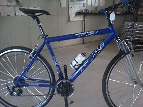 BICICLETA CORRER BICICLETA CORRER BICICLETA DE MUJER DE ALUMINIO 3X 7NEGRO AZUL