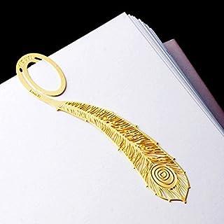 Kcopo Kreative Metallclip Lesezeichen Gold Feder Lesezeichen Blatt Lesezeichen Geschenke Hochzeit Party Für Kinder Mitbringsel Buch Lese