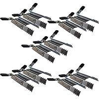 10 abrazadera de fijación de persianas blindadas de alarma antirrobo 5 x 2 pcs