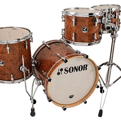 SONOR Delite DL Stage 1 Walnut Roots Shellset Drumset