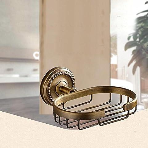 YanCui@ Bagno decorazione Accessori per il bagno Portasapone Rame antico
