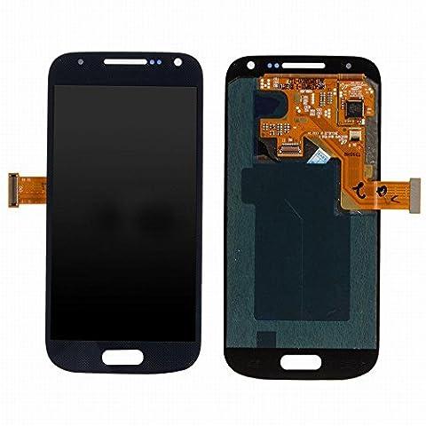 ixuan Vitre Tactile Ecran LCD Assemblé de Rechange pour Samsung Galaxy S4 Mini i9195 i9190 Noir avec Outiles
