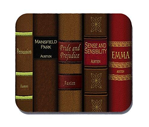 Preisvergleich Produktbild Jane Austen Maus Pad-Mauspad-Jane Austen Bücher-Neuronen nicht im Lieferumfang enthalten