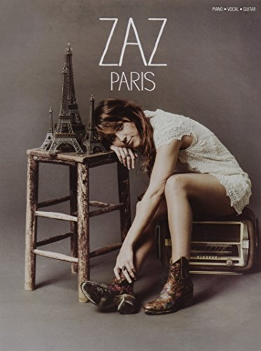ZAZ Paris - Piano Vocal Guitar Book