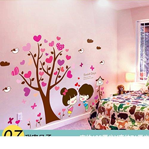 AIWQTO 3d wand tapete,Für kinder layout mädchen kind schlafzimmer dekoration zimmer-G 71x105cm(28x41inch) Antimikrobiellen Oberfläche