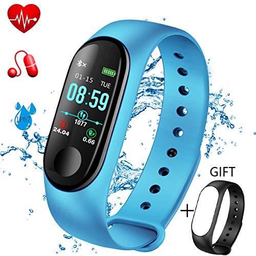 LIGE Fitness Tracker Monitor Ritmo cardíaco