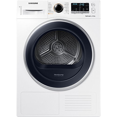 Samsung DV80M5013QW A++ 8kg Heat Pump Freestanding Tumble Dryer - White