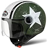 Airoh casque jet Compact Shield S GREEN MATT