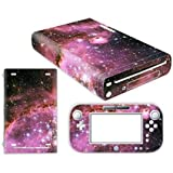 Linyuan Skin Sticker Decal Cover Case 0107# fur Nintend WII U Console And Controller