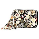 Best Designer Wallets - Creature Designer Floral Print Zipper Wallet For Girls(Color-Multicolored||ZWL-09) Review