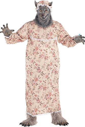Imagen de abuela lobo adultos disfraz hadas libro day animal disfraz para hombre