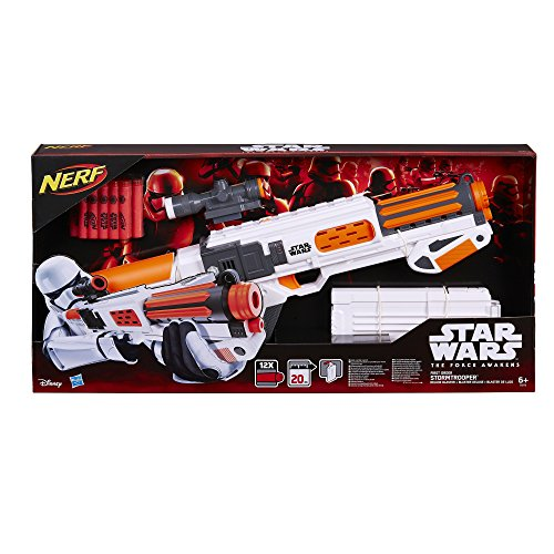 Star-Wars-El-Despertar-de-la-Fuerza-Pistola-de-juguete-Star-Wars-Villain-Trooper-White-II-B3173