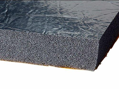 Preisvergleich Produktbild Selbstklebend Dämmmatte Motorhaube Schallschutzmatte 20 mm Buffler 2st. x 980mm x490mm (0.96 m2 gesamt)