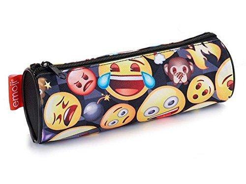 Porta Todo Cilindrico Emoji Altura 22,5cm Diametro 7,5cm
