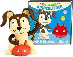tonies 01-0124 30 Lieblings-Kinderlieder - Spiel- & Bewegungslieder Hörfigur, Bunt