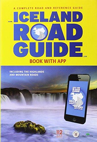 Iceland Road Guide + App 2015 por Vegahandbókin ehf