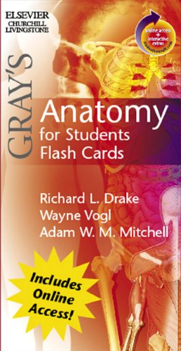 Gray's Anatomy for Students Flash Cards: With STUDENT CONSULT Online Access