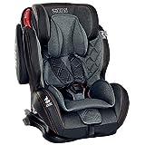 LCP Kids Auto-Kindersitz 9-36 kg Isofix mit Schlafposition Gruppe 1 2 3; Schwarz