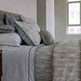 Yves Delorme * Duvet Covers * Fibre Fusain Duvet Cover, Super King 260x220cm