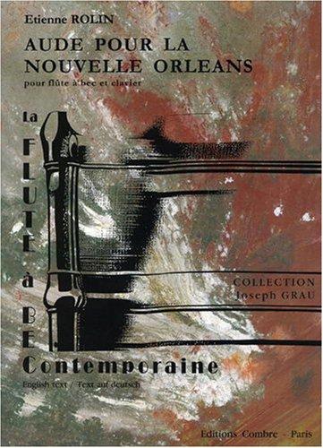 Aude pour la Nouvelle Orléans pour Flûte à bec et clavier