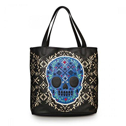 loungefly-sugar-skull-50s-oldschool-tote-bag-handtasche-rockabilly